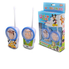 Load image into Gallery viewer, Buzz Lightyear  Toy Walkie Talkies disney Electronic Mickey Minnie Toys House toy series Mni Handheld Toys for kids gift