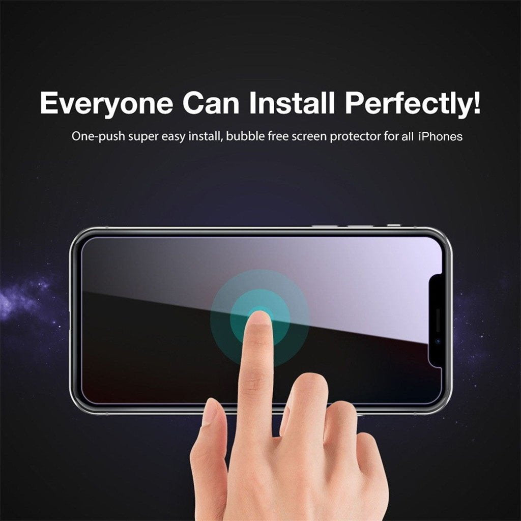 Anti Spy Tempered Glass For All iPhones - Buy 2 Free Shipping