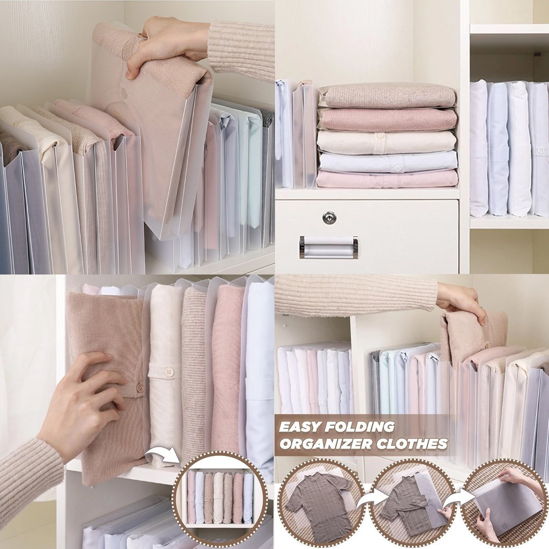 Easy Folding Clothes Organiser