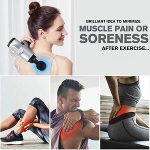 (50% OFF+Free Shipping) - 4 In One,Relieving Pain,3 Speed Setting Body Deep Muscle Massager