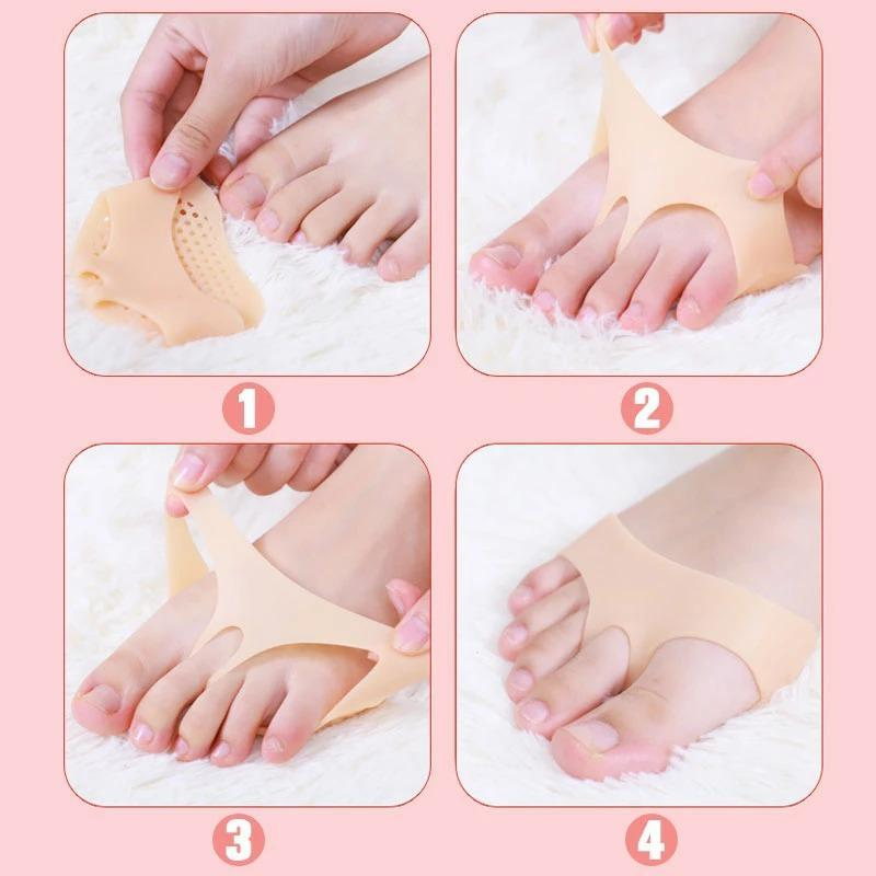 Pain-proof high-heeled silicone honeycomb mat