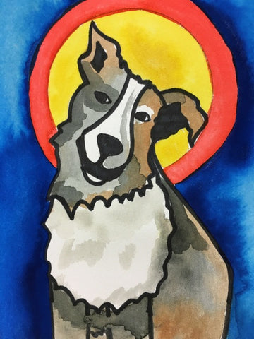 PAINTINGS - DOG LOVERS