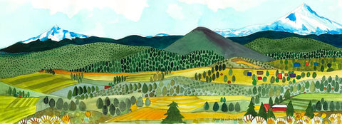 GICLEES - Black Butte And Jefferson