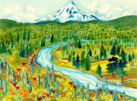 GICLEE - Wildflower Ridge