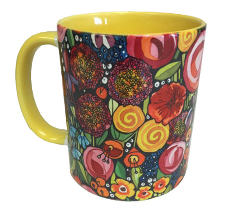 KATHY'S MUGS - Flower Basket