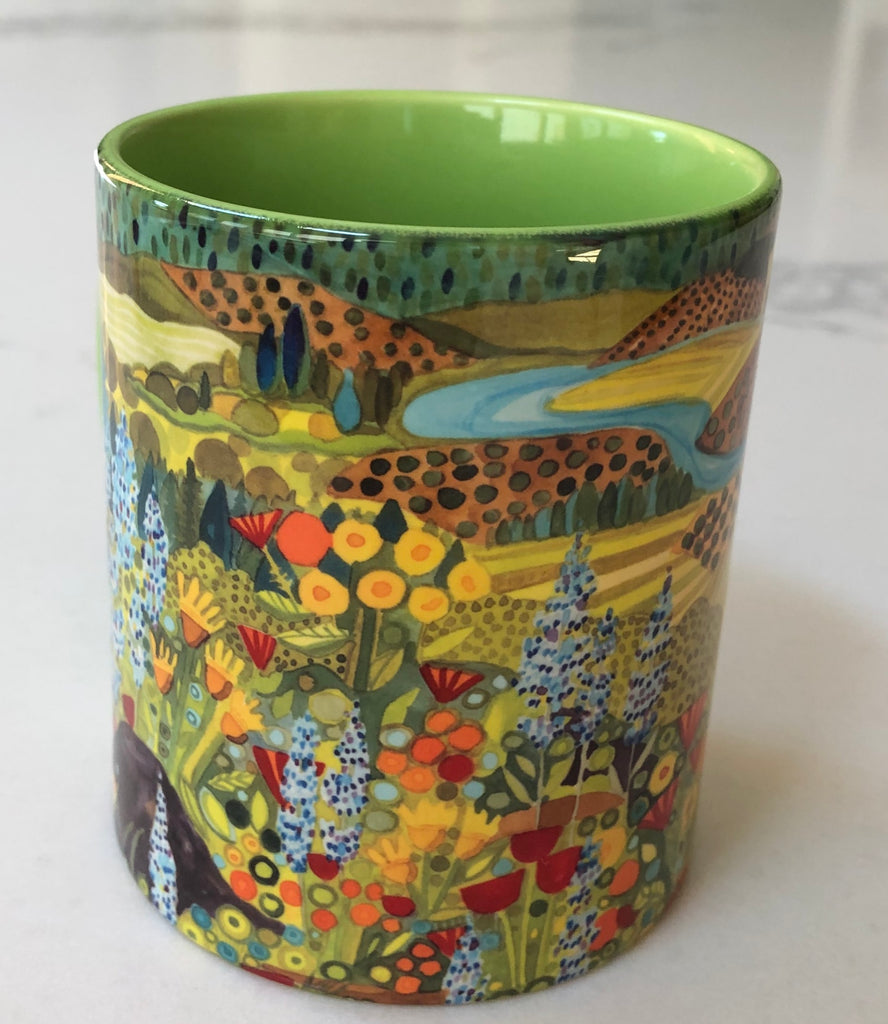 KATHY'S MUGS -Wildflower and Farmland