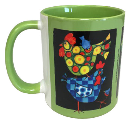 KATHY'S MUGS - Chickens Green