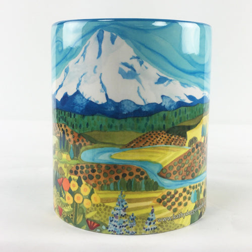 KATHY'S MUGS - Mount Hood Wildflowers