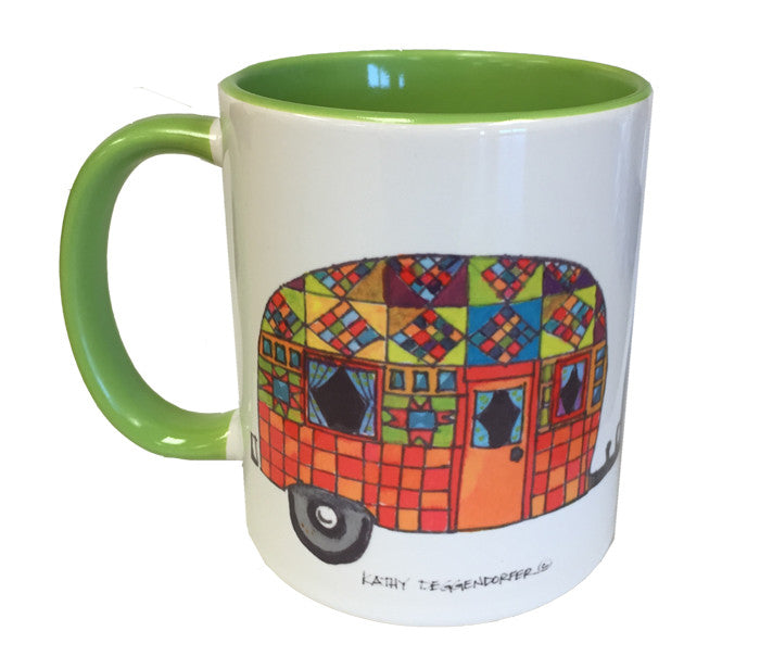KATHY'S MUGS- Patchwork Trailer