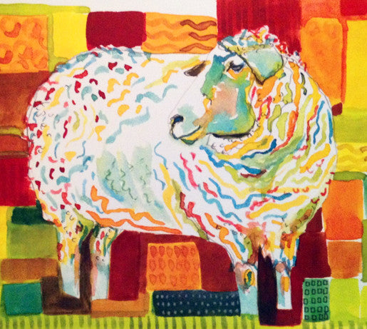 CARDS - Sheep Pattern
