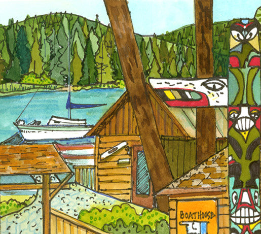 PAINTINGS - Suttle Lake