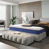 10Inch Latex Infused Memory Foam and Pocket Spring Mattress