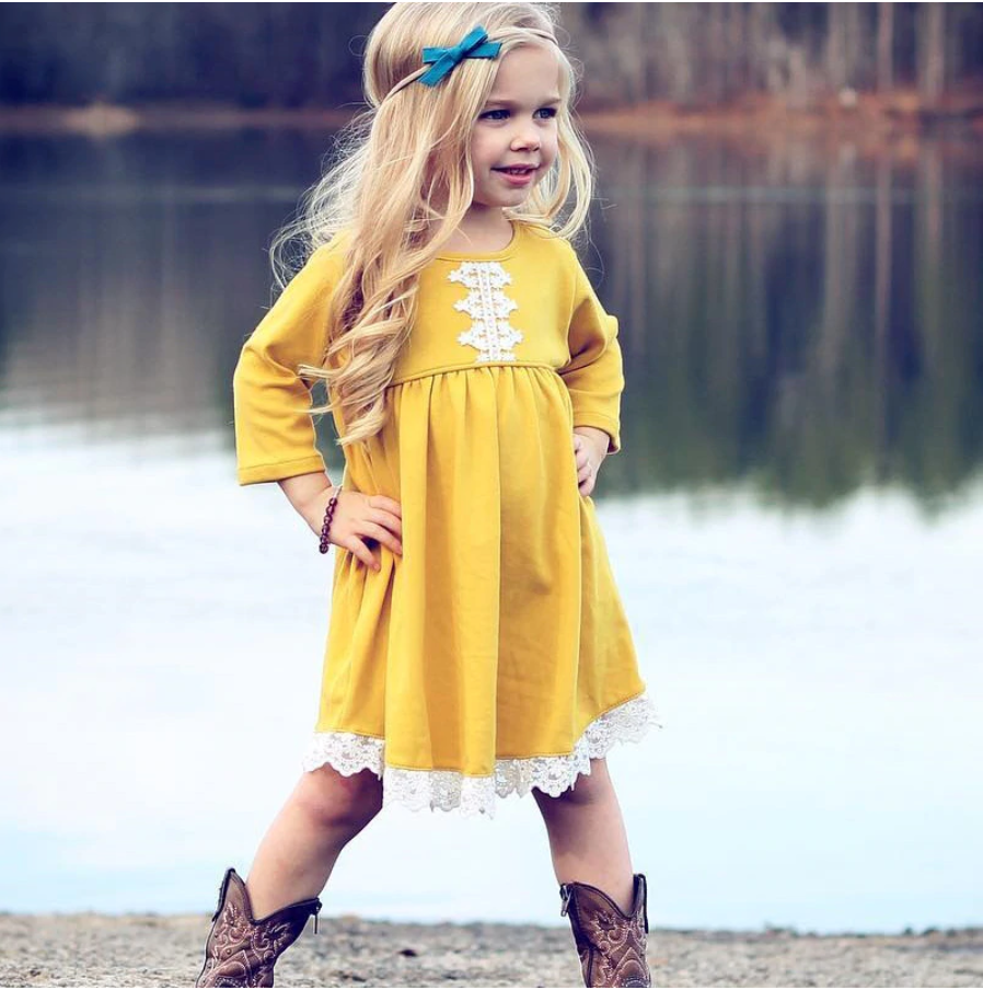 The perfect play dress for your little pumpkin.