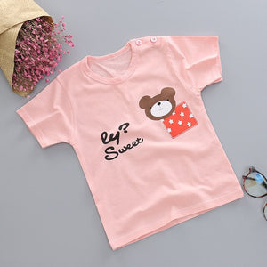 Cute and colourful summer T's
