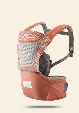 Ergonomic kangaroo baby carrier