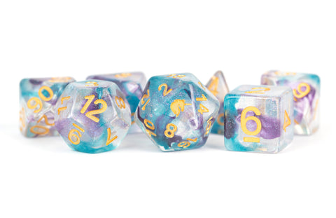 MDG Dice Unicorn: Fancy Fae 16mm Poly Dice Set