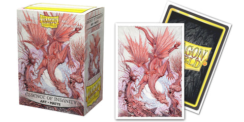 Dragon Shield Sleeves: Matte Art Essence of Insanity (Box Of 100) - Limited Edition