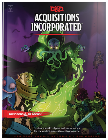 D&D 5e: Aquisitions Incorporated