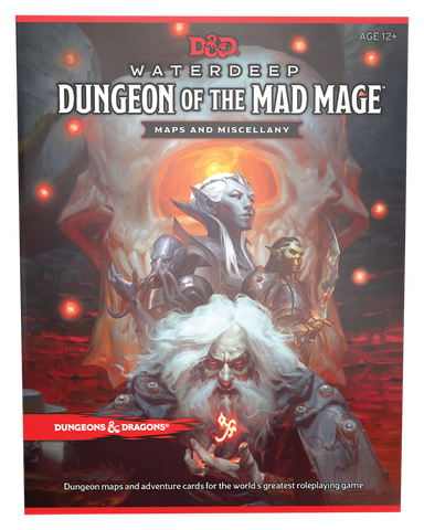 D&D 5e Waterdeep: Dungeon Of The Mad Mage Map Pack