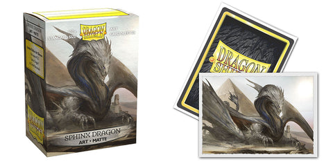 Dragon Sheild Sleeves: Matte Art: Sphinx Dragon (Box Of 100) - Limited Edition
