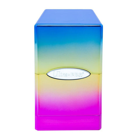 Ultra Pro: Satin Tower Deck Box - Rainbow