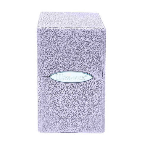 Ultra Pro: Satin Tower Deck Box - Ivory Crackle