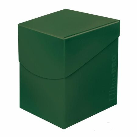 Ultra Pro: Eclipse Deck Box - Forest Green Pro 100+