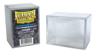 Dragon Shield Gaming Box Clear