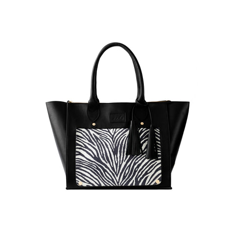 ALHAMBRA BAG BLACK/ZEBRA