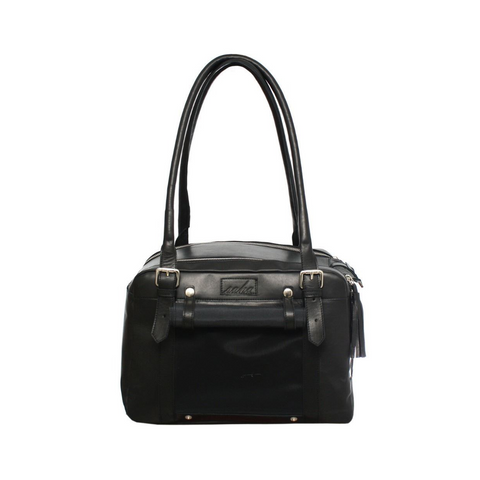 TAFOYT BAG LEATHER BLACK