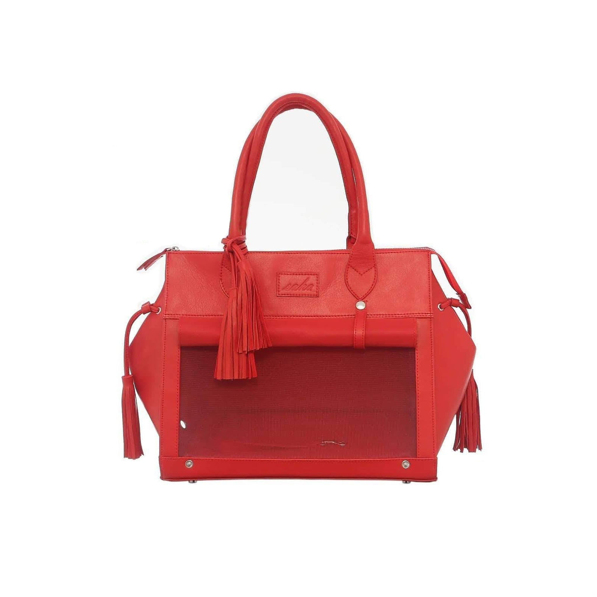 TOUDA BAG S LEATHER RED