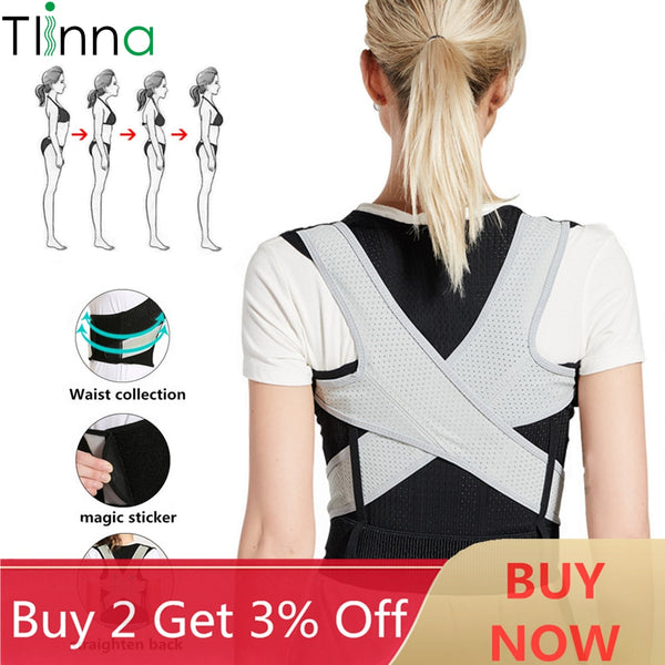 Back Shoulder Brace Support Belt