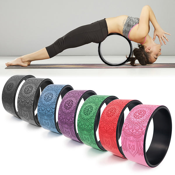 Yoga Wheel Back Training Fitness