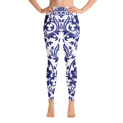 Yoga Leggings Blue China