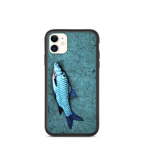 Biodegradable iPhone case - Obscure Blue Fish Photo Cover