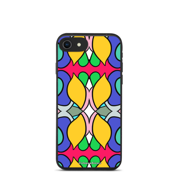 Color Explosion - Hand-Drawn Pattern - Biodegradable phone case