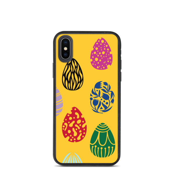 Biodegradable iPhone case - Easter Eggs Limited Edition