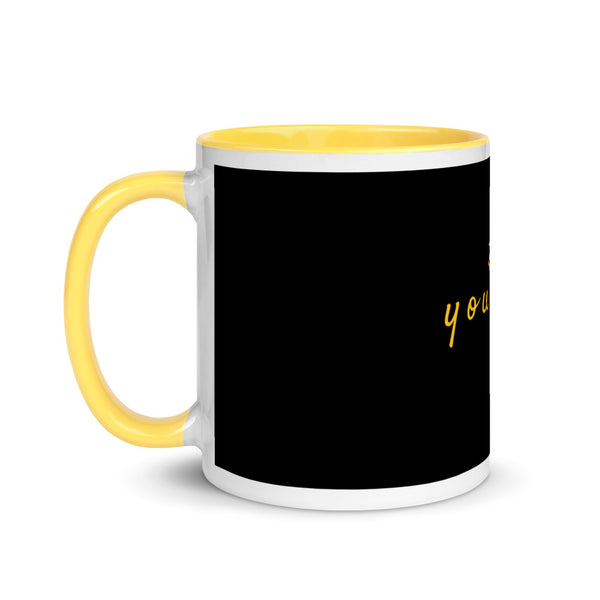 Yellow Inspiration mug