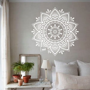 Mandala Wall Art - Sticker for your walls, floor, furniture or tiles.