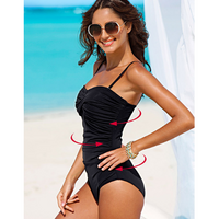 Women's Plus Size One-Piece Swimsuit