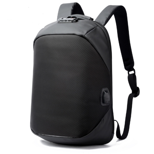 Luxury Coded Lock Waterproof USB Backpack