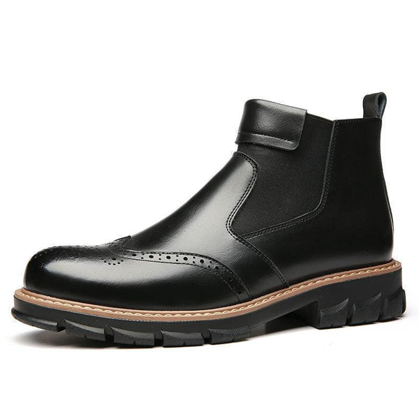 Men's Leather Retro Martin Boot