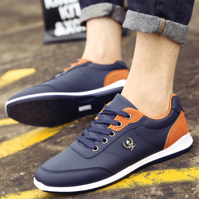 Men's Cotton Cloth Casual Lace-Up