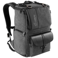 Photographer's  Waterproof Canvas Backpack