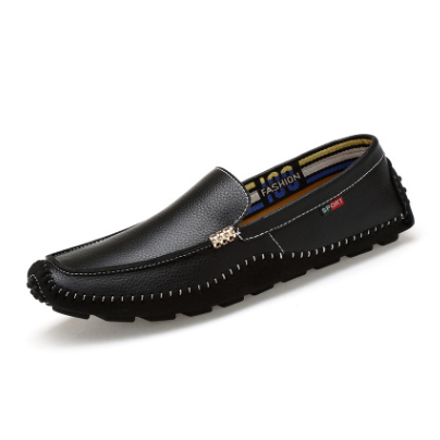 Men's Cowhide Casual Peas Loafer