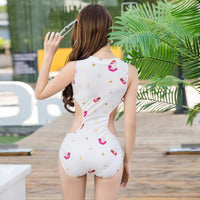 Women's Slim One-Piece Swimsuit