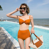 Women's Siamese Two-Piece Swuimsuit