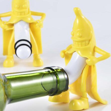 Creative Banana Wine Bottle Stopper