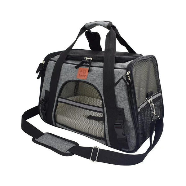 Foldable Travel Bag For Small Pets Up To 13KG or 28LB