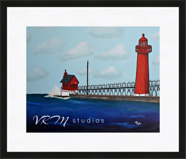 Follow Your Light, folk art print on quality acid free photo paper, unmatted or matted